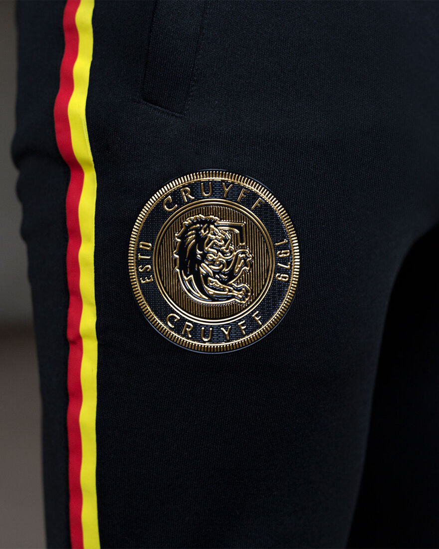 Euro Track Pants Germany, Black, hi-res