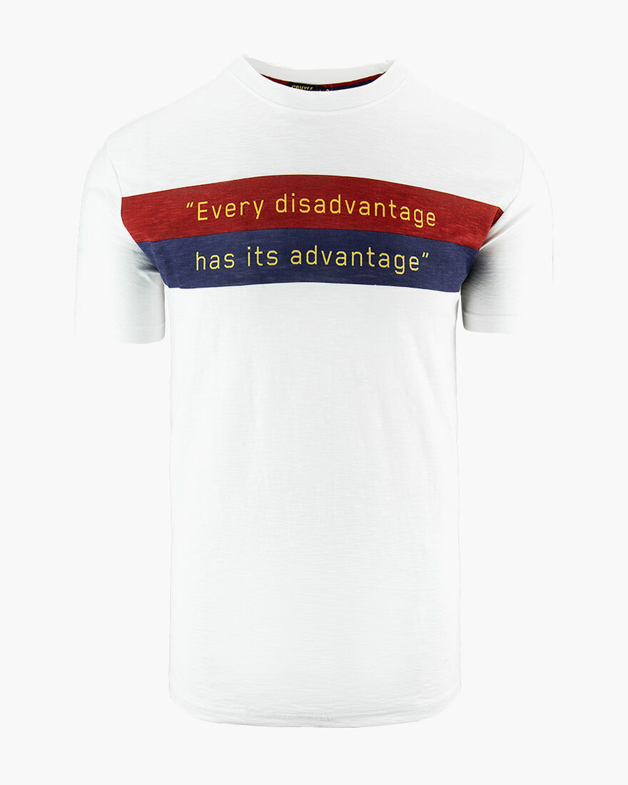 Advantage Tee, White, hi-res