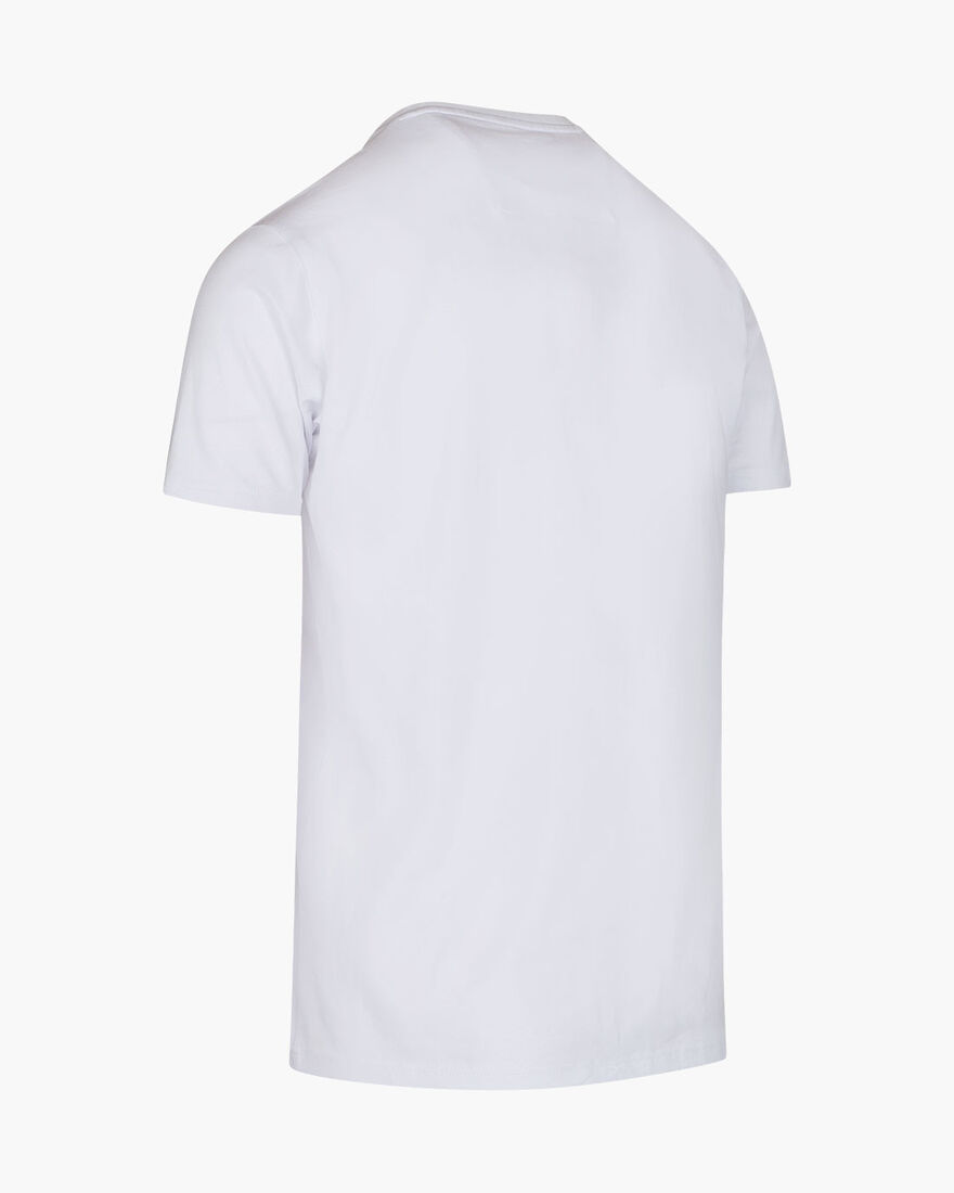 Lusso SS Tee - White - 95% Cotton / 5% Elastane, White, hi-res
