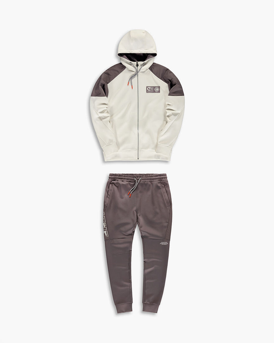 Cruyff x Banlieue Scuba Suit  - Pink / Navy - 95% , Off white, hi-res