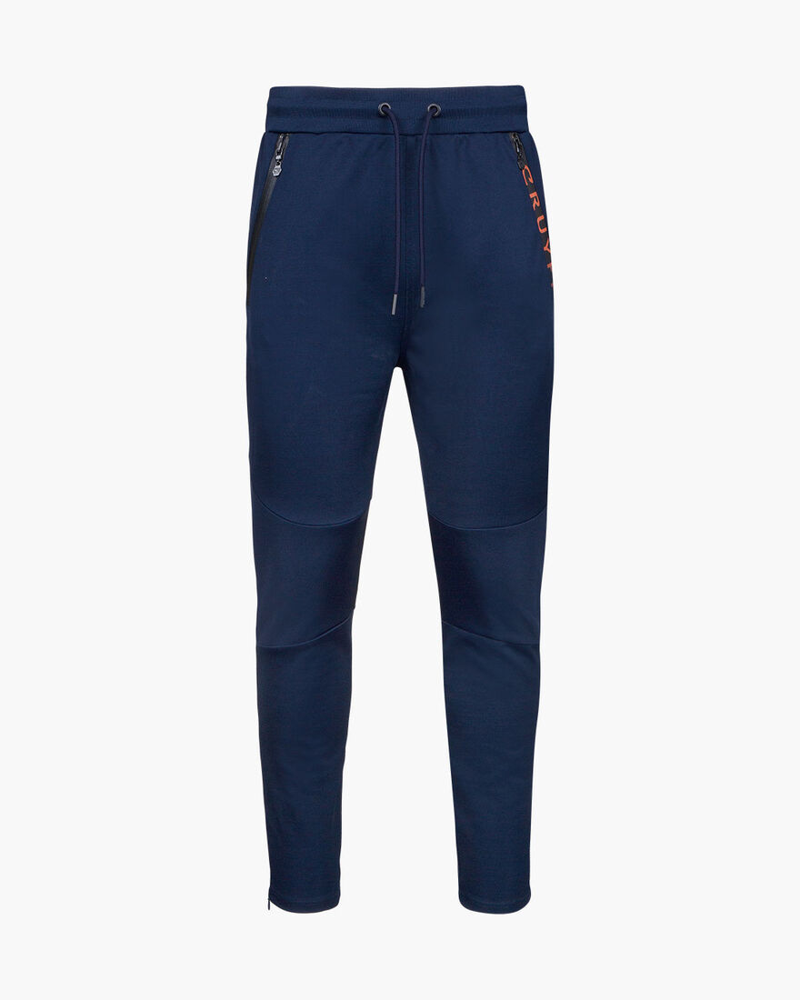 Riba Track pants, Navy, hi-res