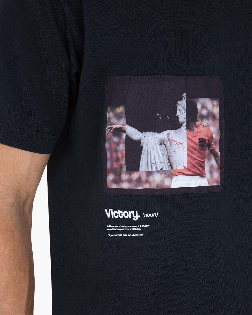Victoria SS Tee, Black, hi-res