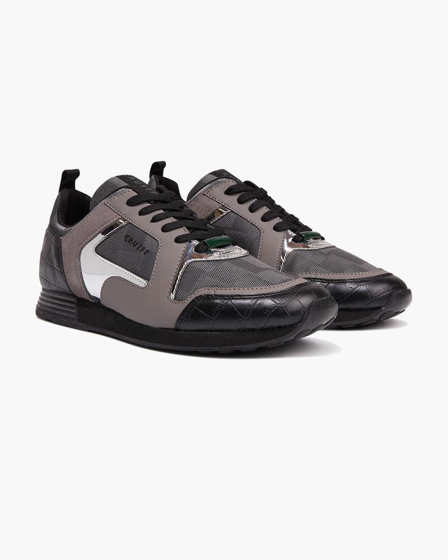 Lusso - Black - Teknit Mesh/Specchio, Grey/Grey, hi-res