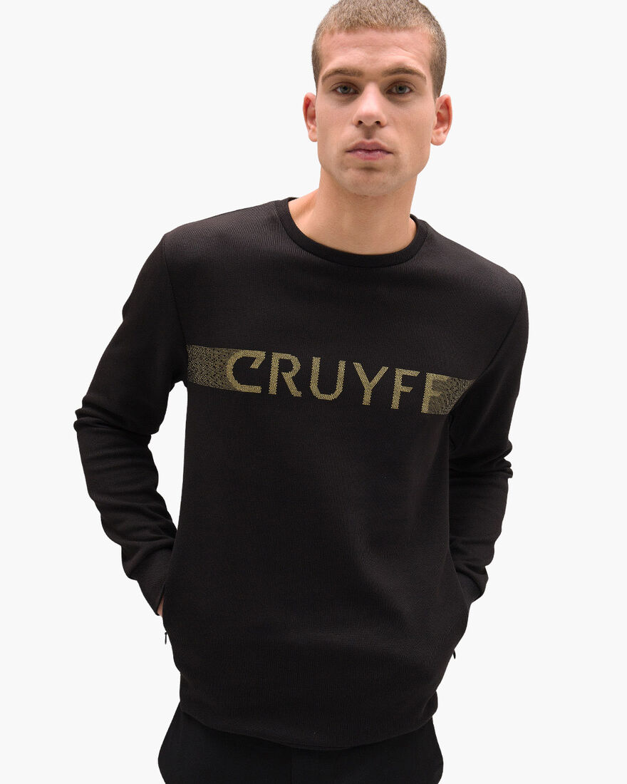 Guillem Sweater, Black, hi-res