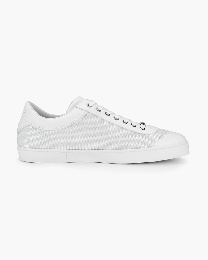 Santi - White/Gold - Netmesh/Suede, White, hi-res