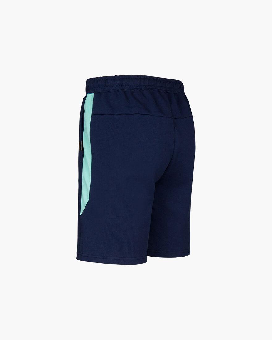 Joaquim Jog Short - Navy/Mint - 70%Cottn / 30% Pol, Navy, hi-res