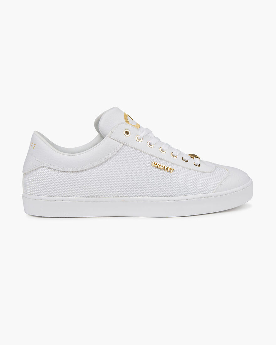 Santi - White/Gold - Netmesh/Suede, White/Gold, hi-res