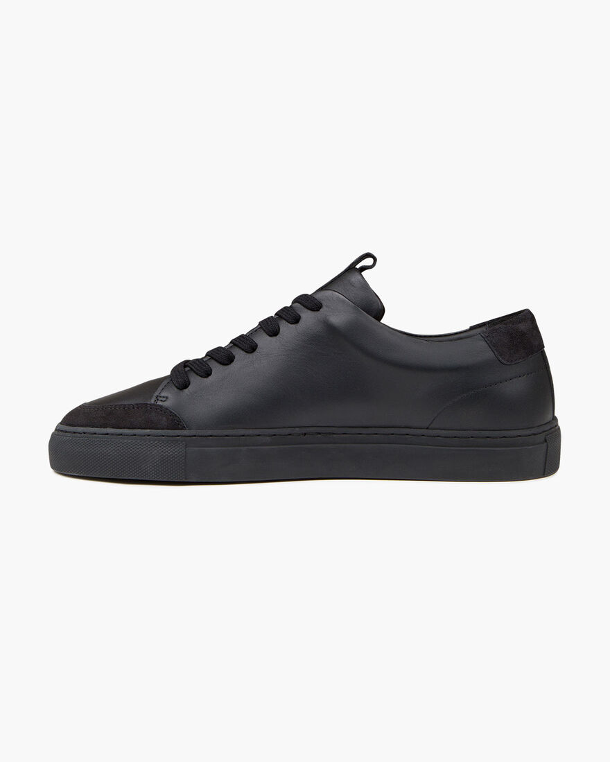 Architect Tennis - Black - Soft Smooth leather, Black, hi-res