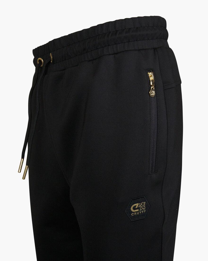 Augusti Pants - Black - 95% Polyester / 5% Elastan, Black, hi-res