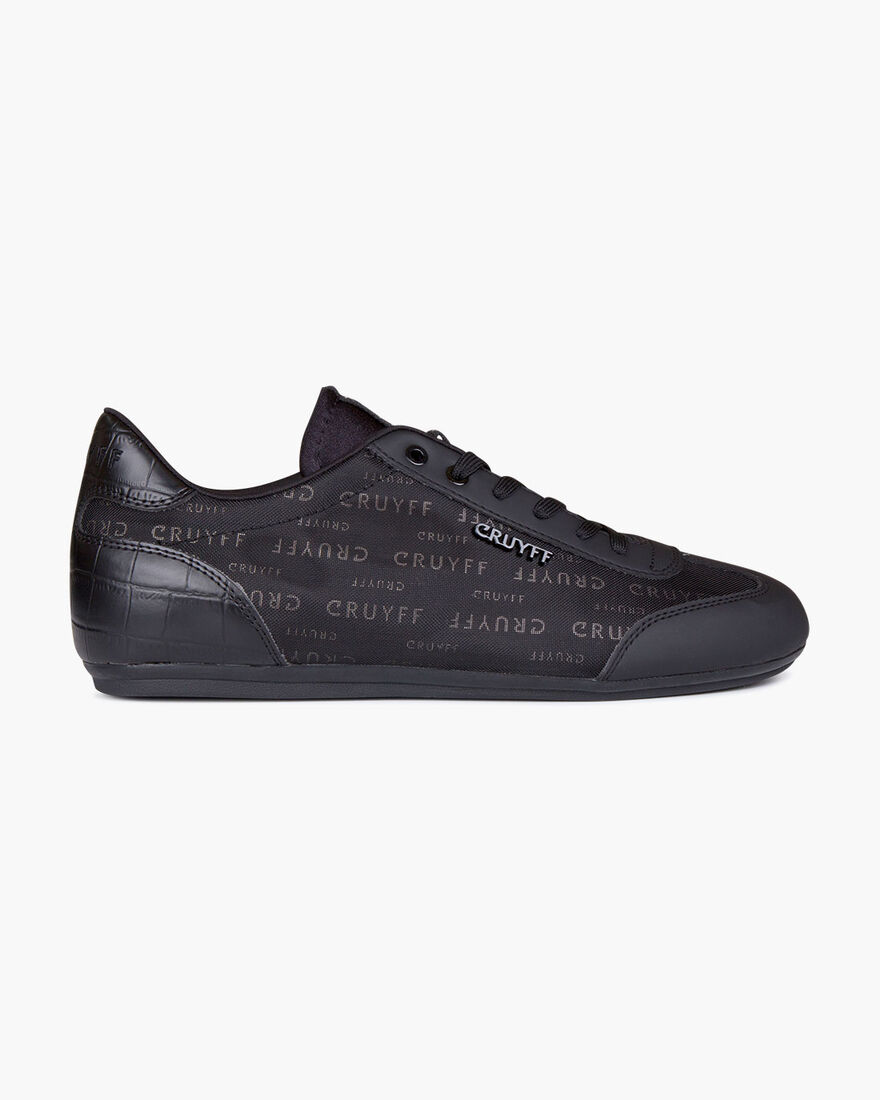 Recopa - Black - Reflect/Big Croco, Black/Silver, hi-res