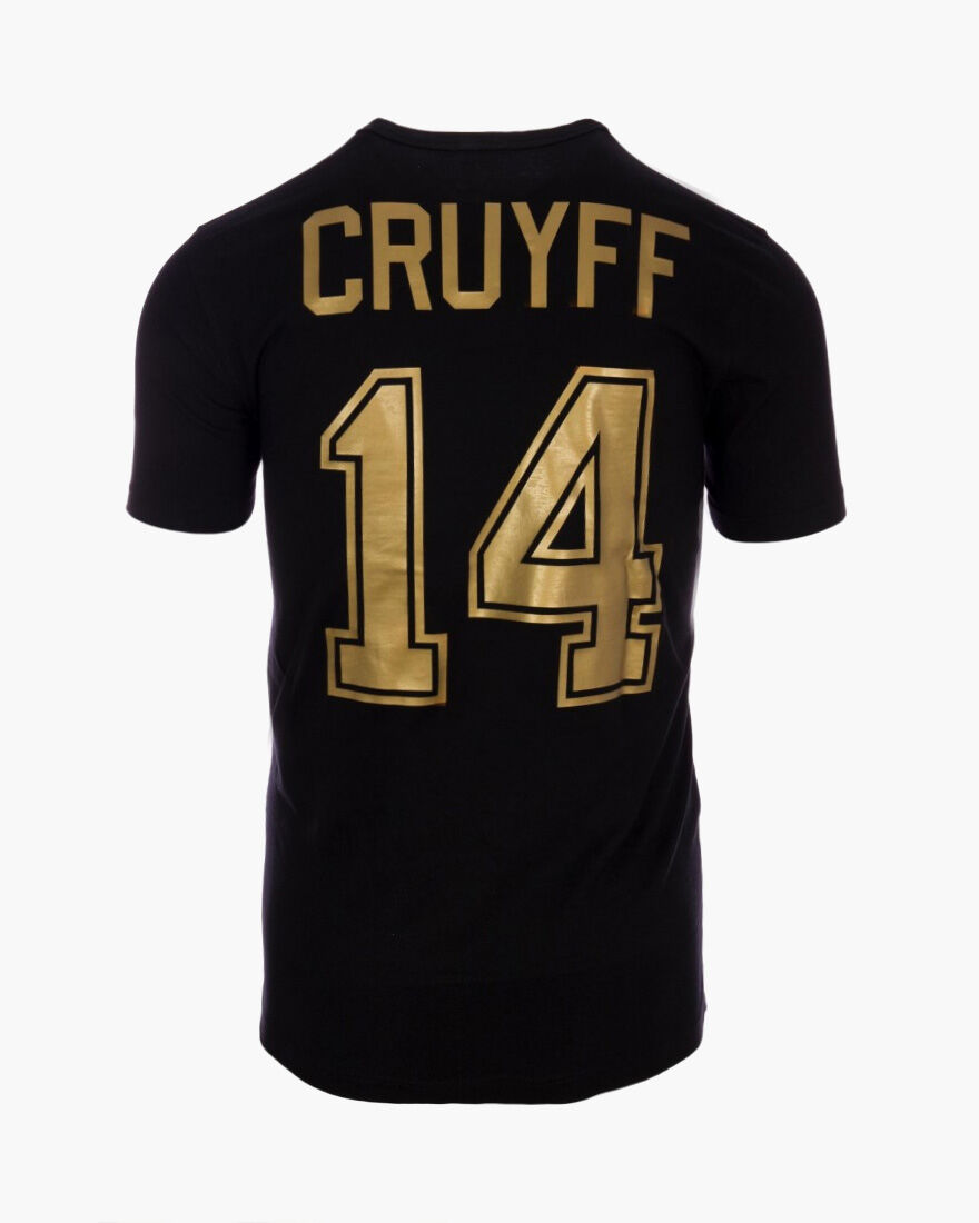 Cruyff Signature Tee 2-pack, Black/Gold, hi-res