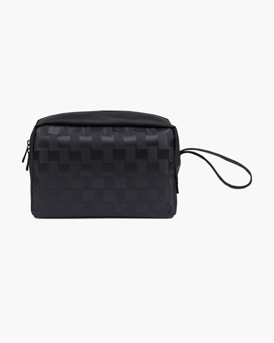 Smart Wash Bag, Black, hi-res