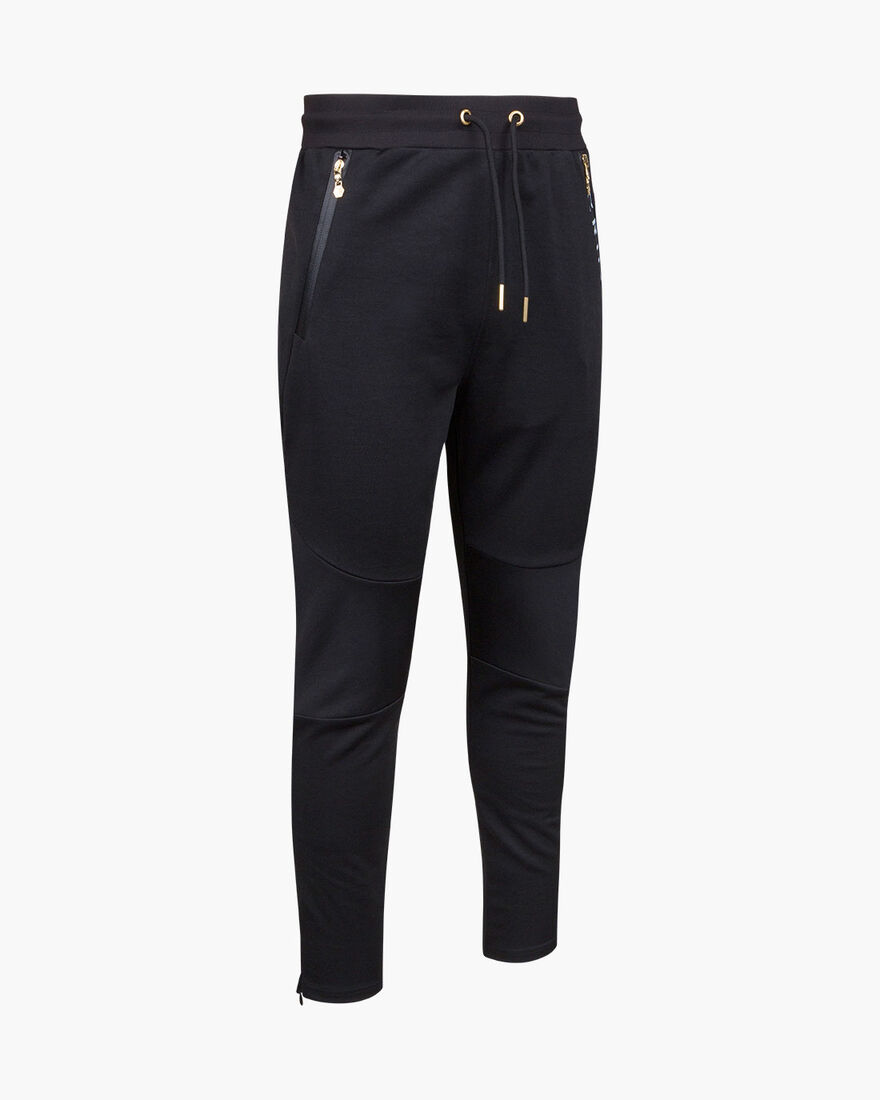 Riba Track pants, Black, hi-res