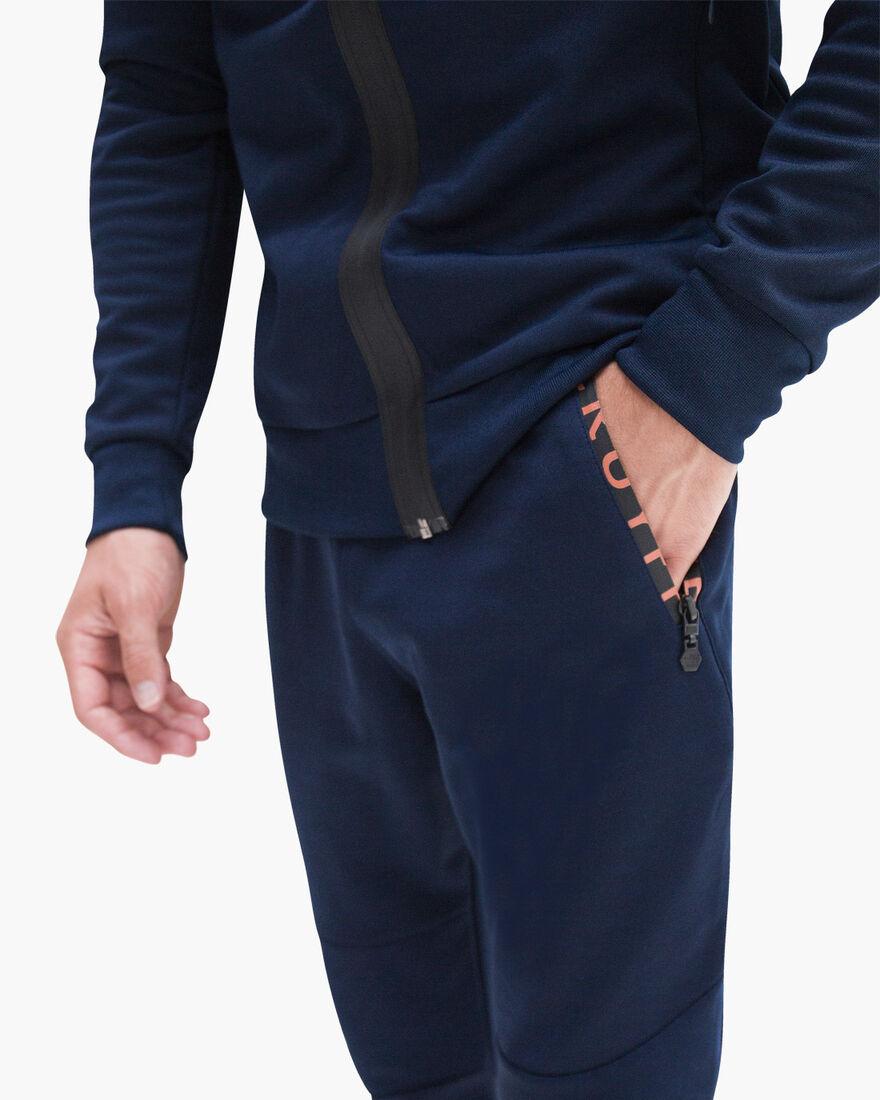 Riba Track pants, Navy, hi-res