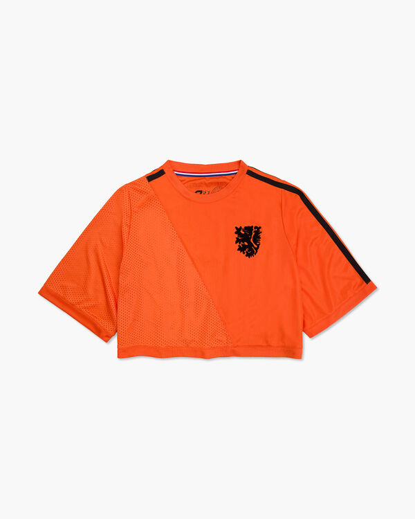 Cruyff x Blood In Blood Out Womens Euro 2020 Crop Top