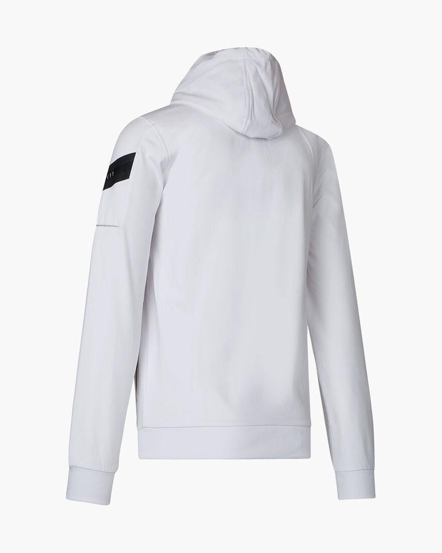 Paolo FZ Hood - Navy/Gold - 95% polyester / 5% ela, White, hi-res