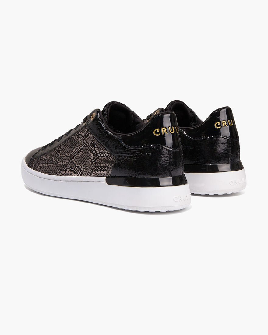 Patio Lux - Offwhite/Gold - Netmesh/Suede, Black/Gold, hi-res
