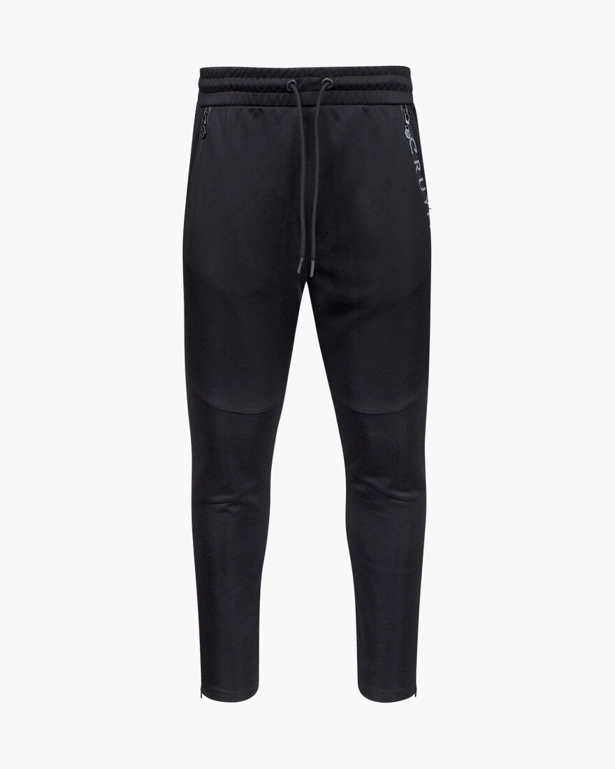 Salva Track pants, Black, hi-res