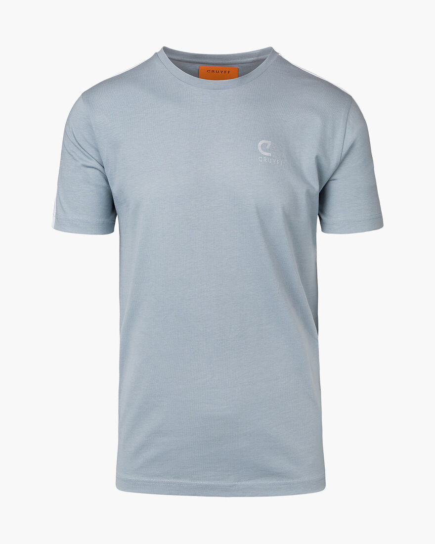 Brossa SS  T-shirt - Grey - 100% Cotton, Grey, hi-res