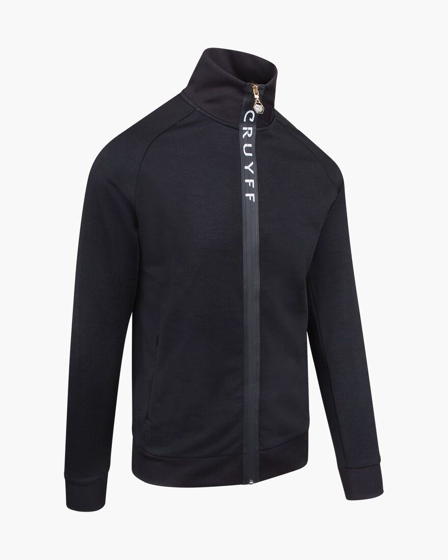 Riba Track top, Black, hi-res
