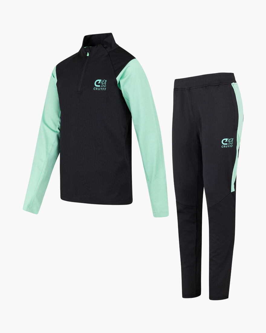 Corner Suit, Black/Green, hi-res