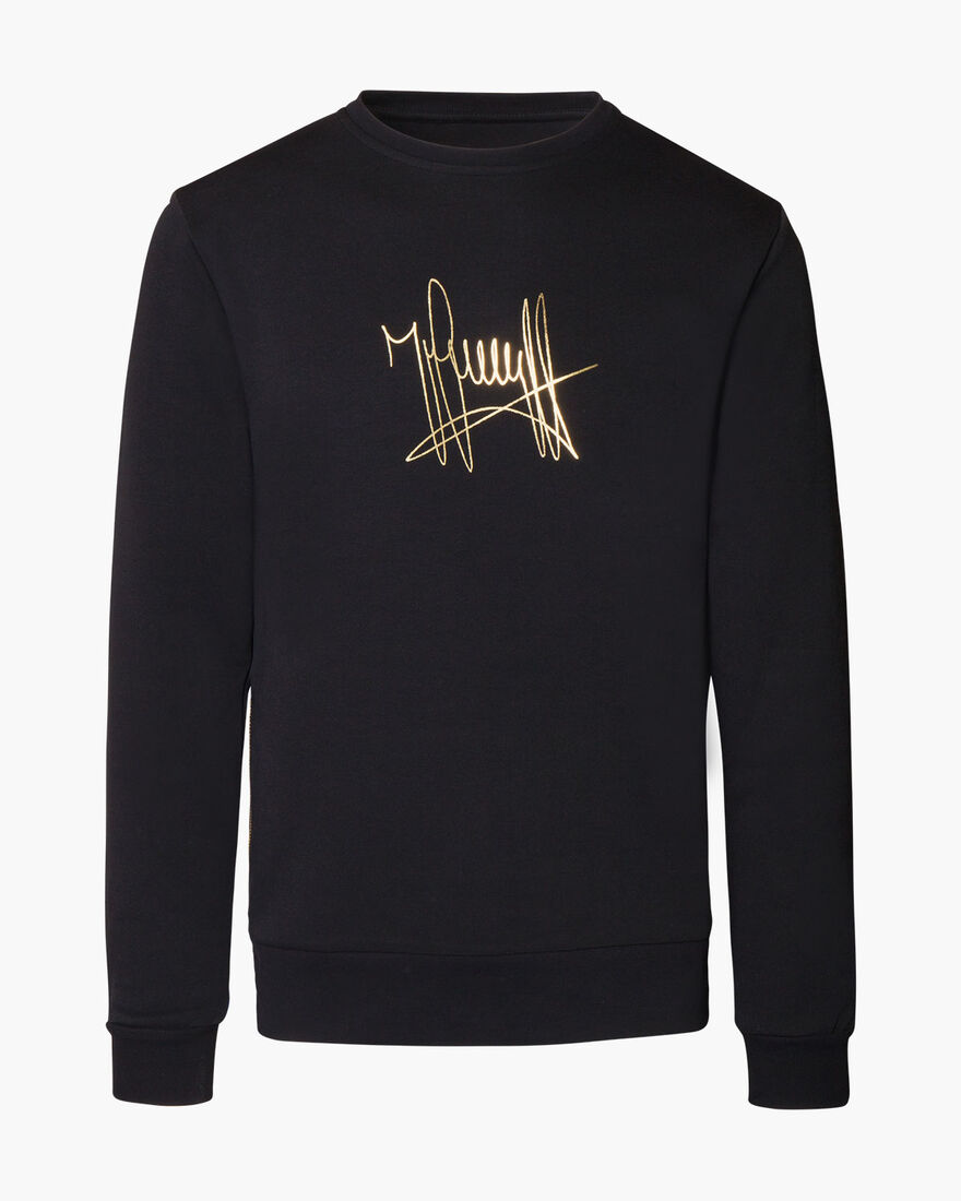 Cromme Sweater, Black, hi-res