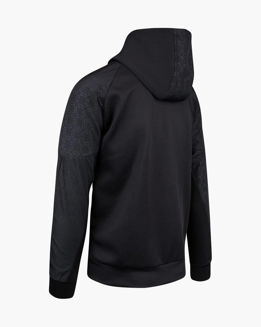 Herrero Zip-thru Hood, Black, hi-res