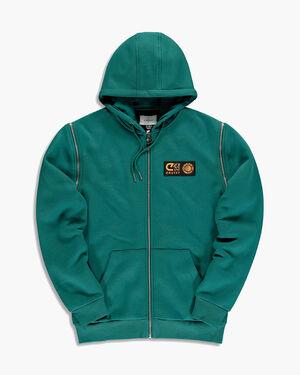Cruyff x Banlieue zip-thru hoodie