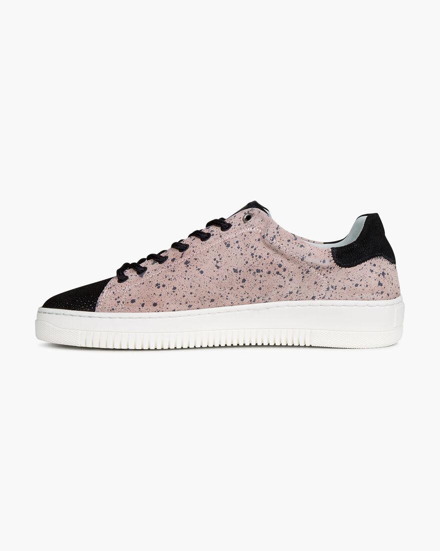 Joan - Jeans Blue - Vesuvio Suede, Pink, hi-res