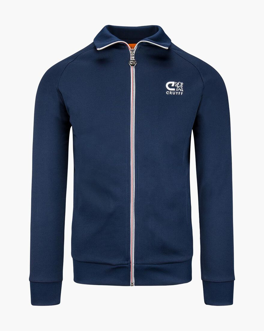 Dale Track Top, Navy, hi-res