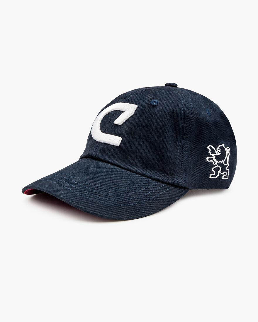 Cruyff Clasica Cap - Navy/Red, Navy, hi-res