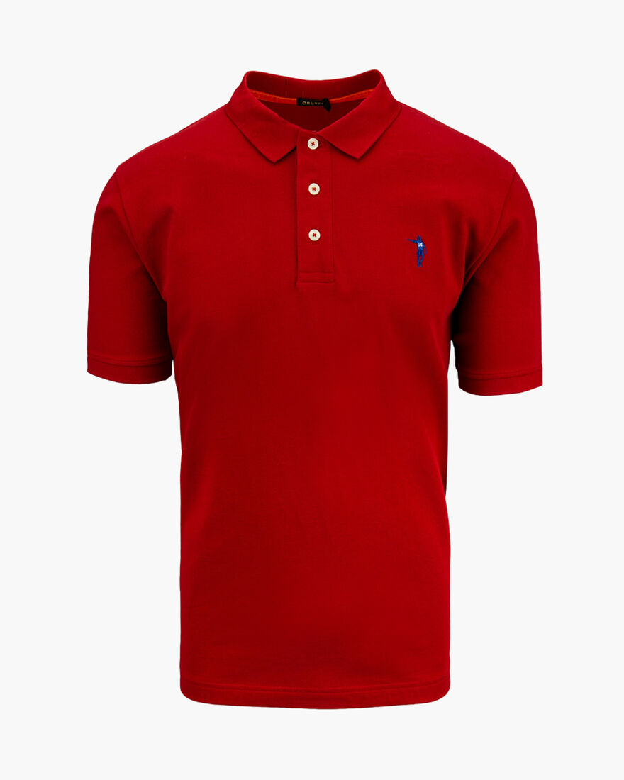 Maestro SS Polo, Red/Blue, hi-res