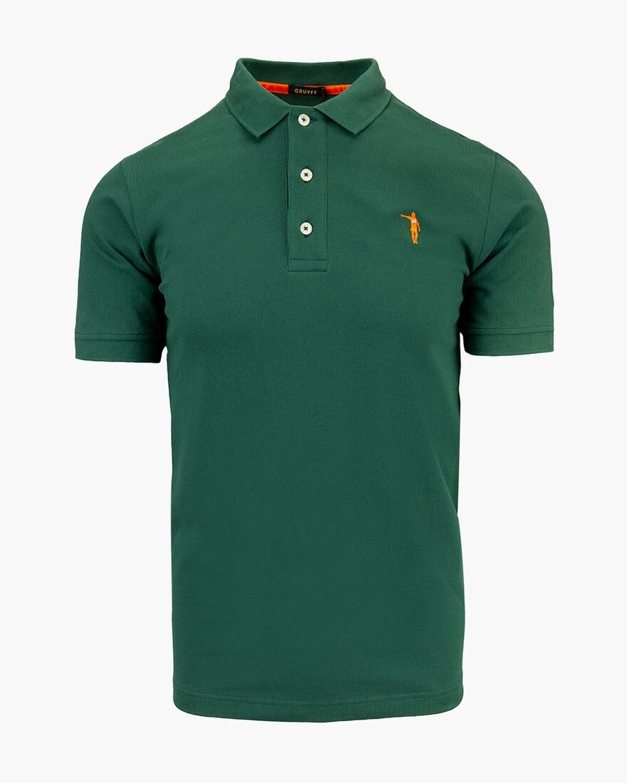 Maestro SS Polo - British Green - 100% cotton piqu, Green, hi-res