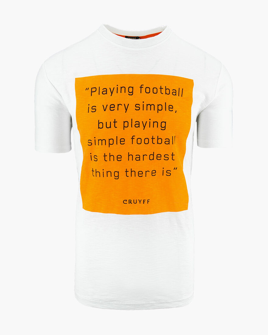 Playing Football Tee, White, hi-res
