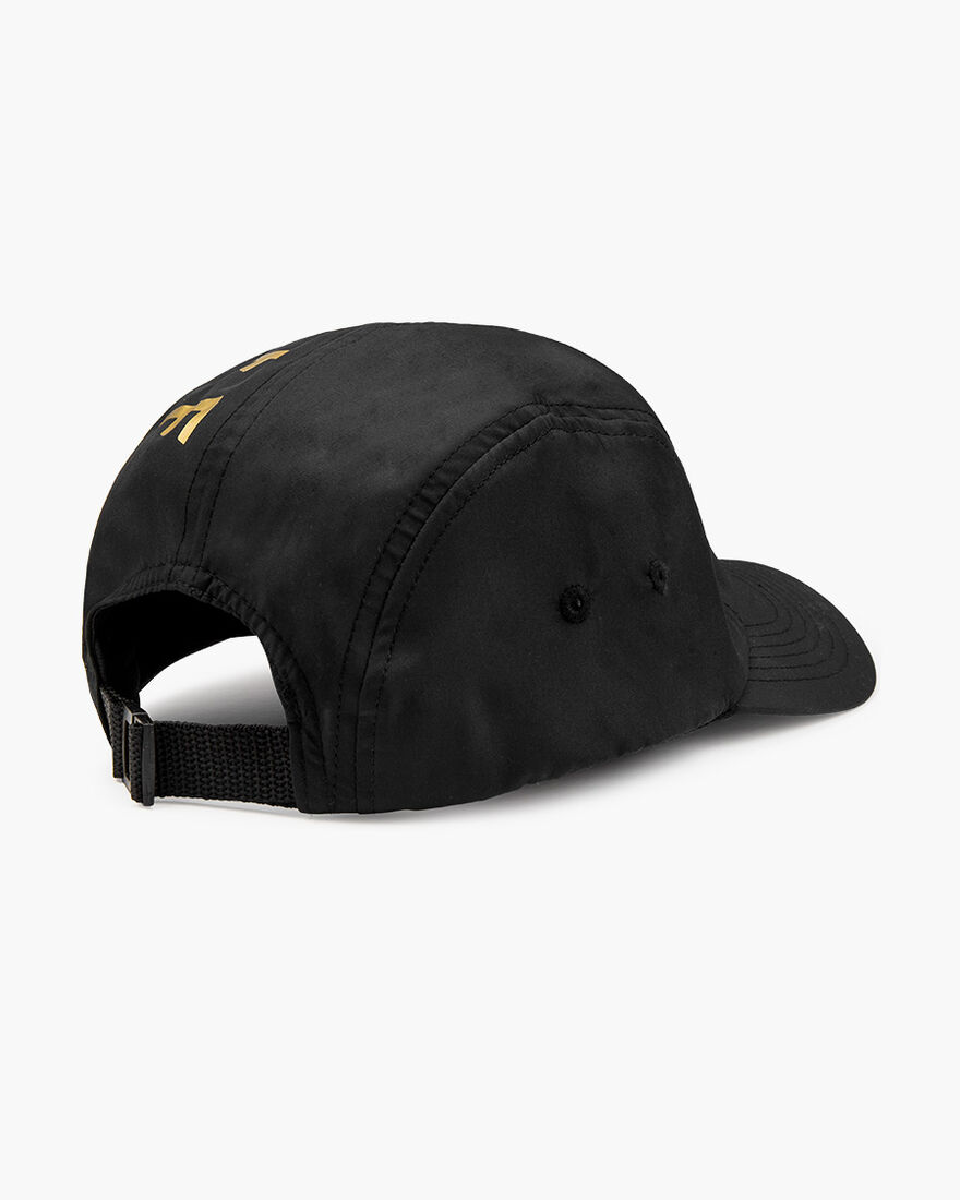 Gold Signature Cap - Black, Black, hi-res