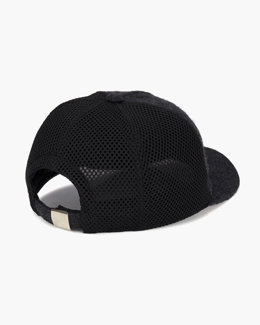 Wool Cap, Grey, hi-res