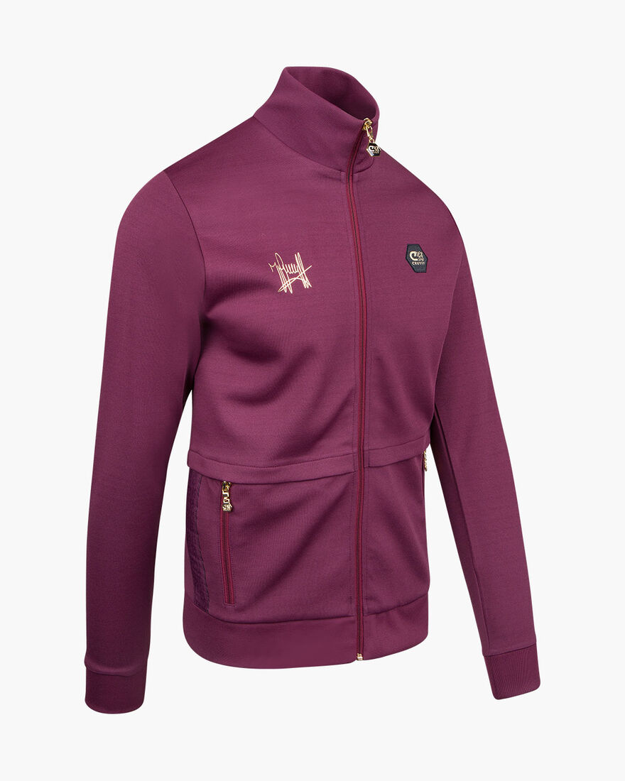 Carreras Track top, Purple, hi-res