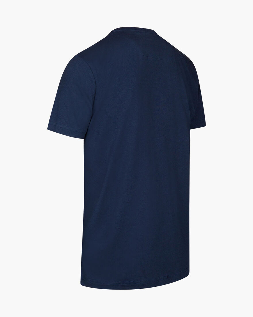 Mosco Tee, Navy, hi-res