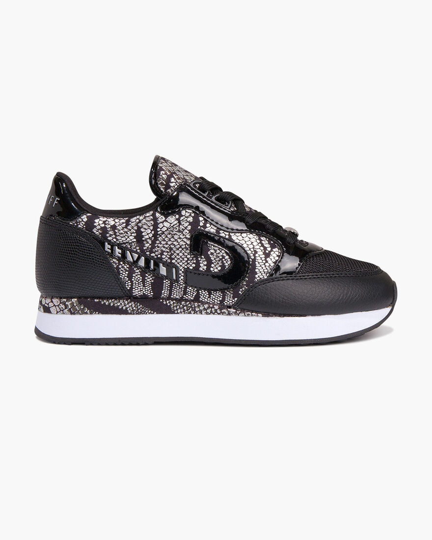 Parkrunner - Offwhite/Gold - Netmesh/Suede, Black/Silver, hi-res