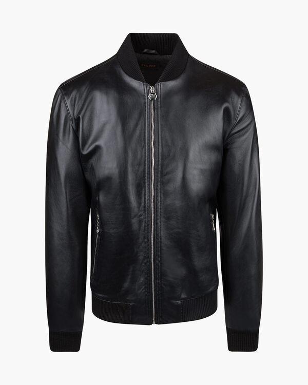 Julio Leather Bomber