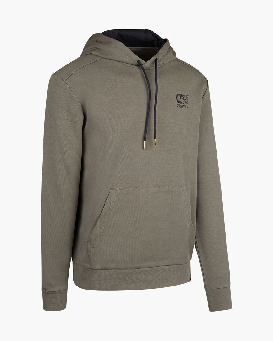 Joaquim Hoodie - Navy - 70%Cottn / 30% Polyester, Army green, hi-res