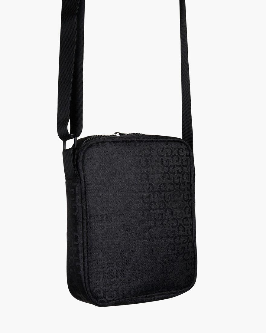 Augusti Shoulder Bag, Black, hi-res