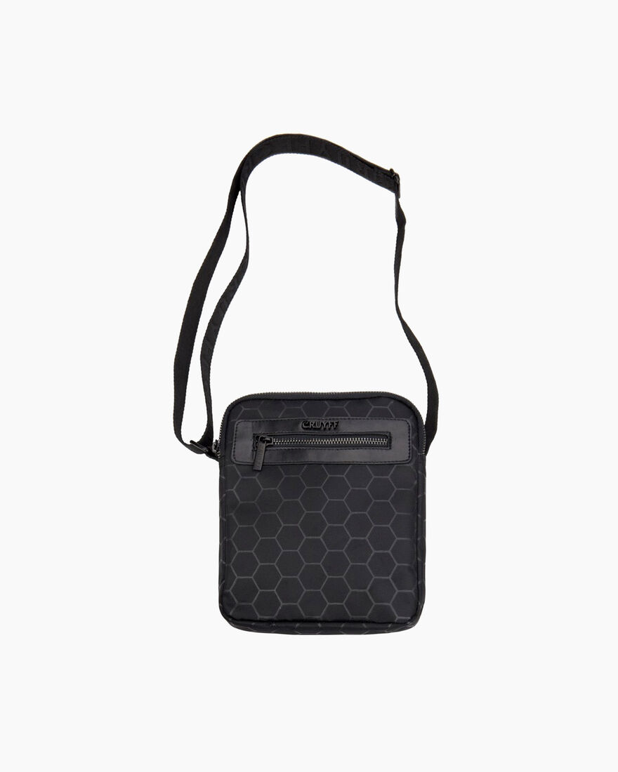 Hexagon Shoulderbag, Black, hi-res
