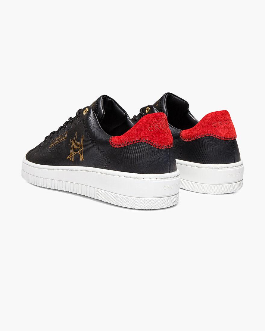 Joan - Yellow - Anaconda/Ray leather, Black/Red, hi-res