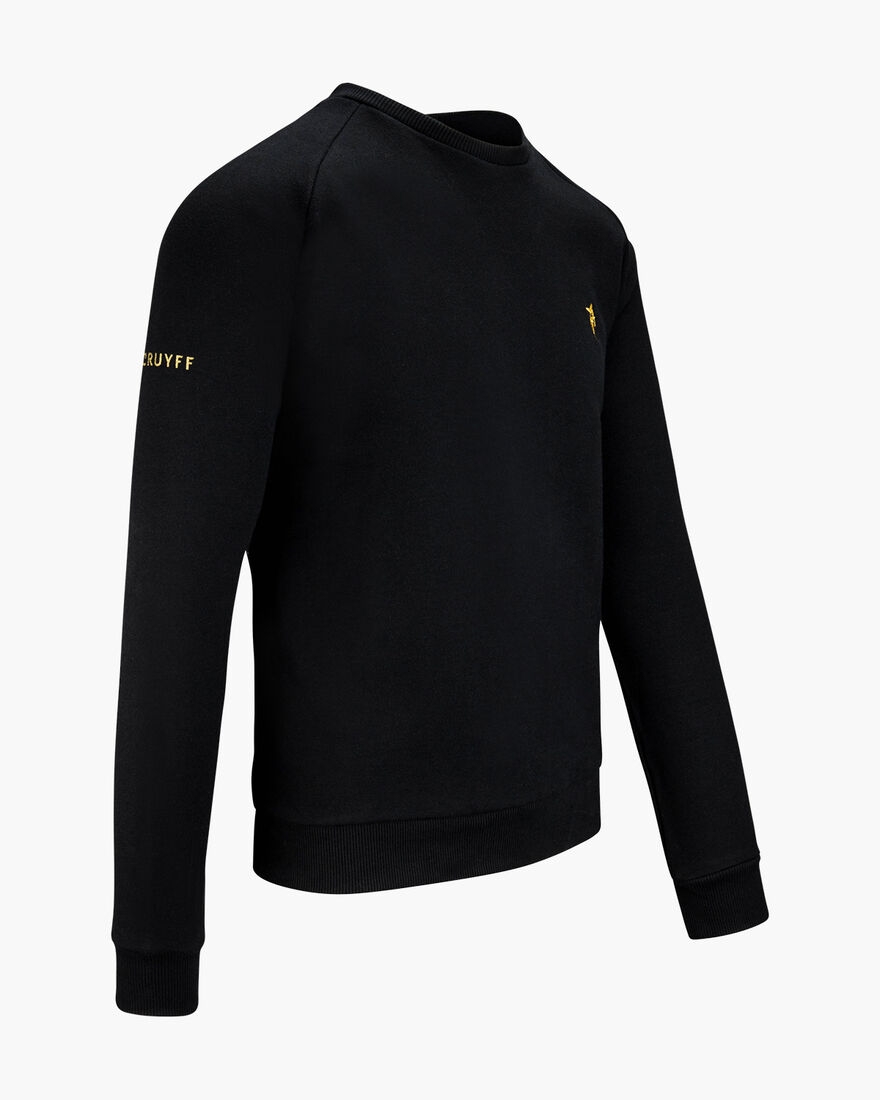 Maestro Gold Crewneck, Black, hi-res