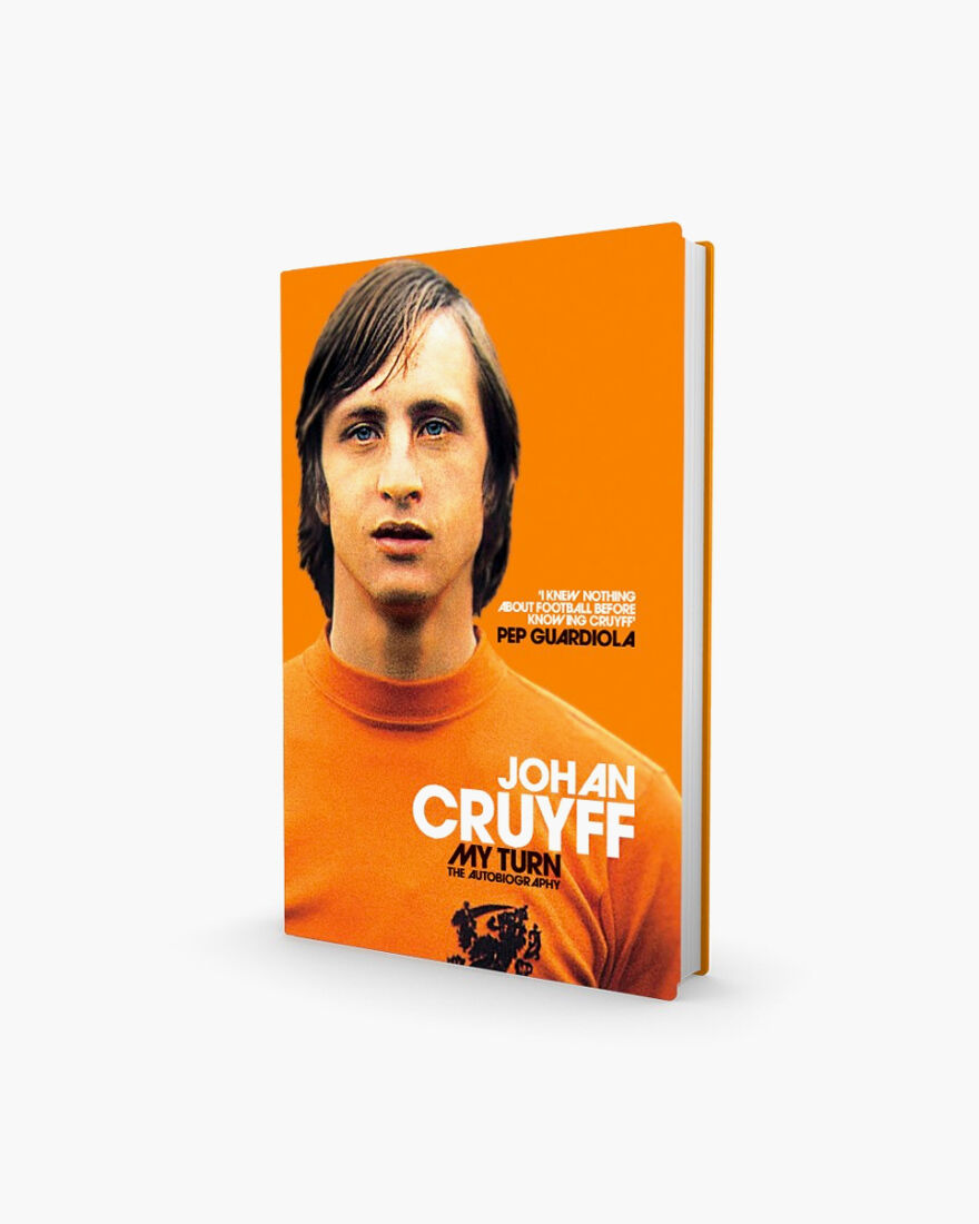 Johan Cruyff's Autobiography - My Turn, Black, hi-res