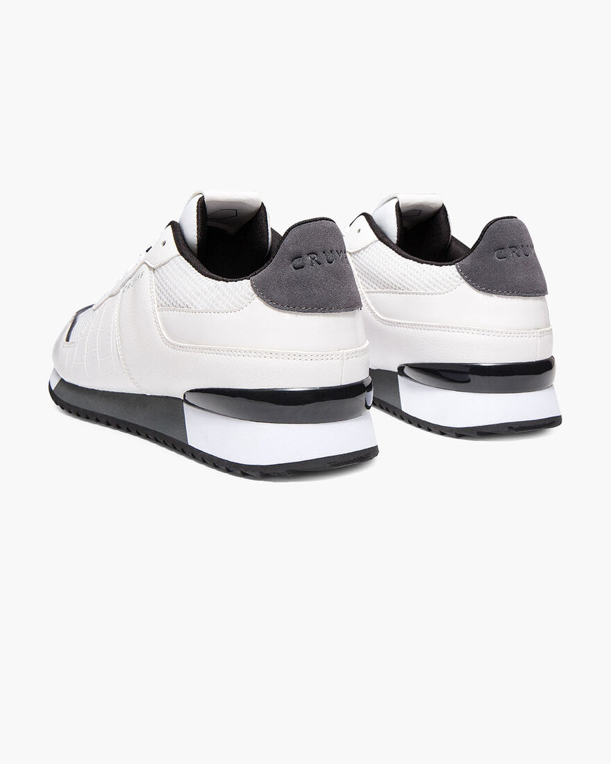 Cosmo - Black - XL Mesh/Big Croco, White, hi-res
