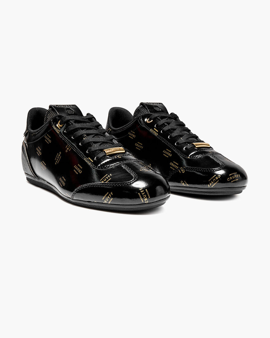 Recopa - White - Vernice/Icon Graphic, Black/Gold, hi-res