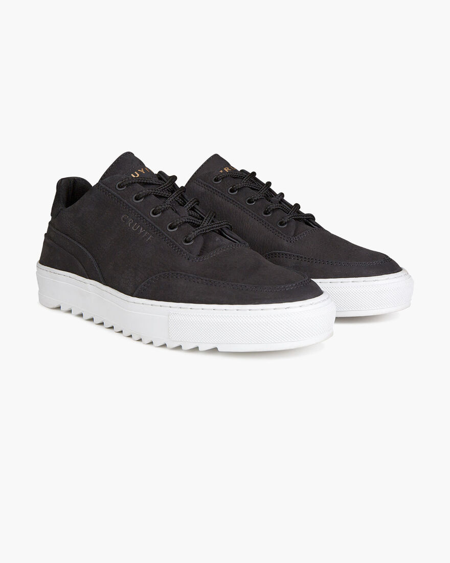 Tiago - Black - Premium Tumbled Nubuck, Black, hi-res