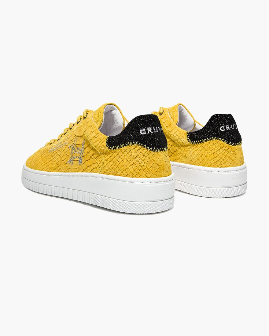 Joan - Black - Anaconda/Ray leather, Yellow, hi-res
